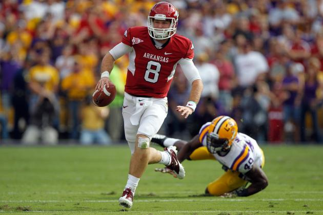 Arkansas Football: 4 Reasons Razorbacks' Biggest Threat Is LSU, Not Alabama