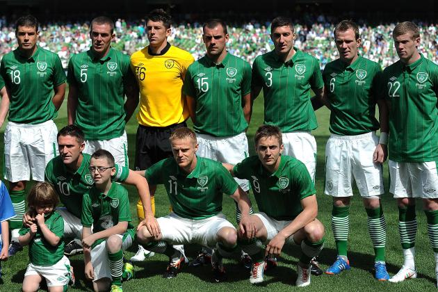 Euro 2012: Republic of Ireland Player Ratings vs. Bosnia Herzegovina