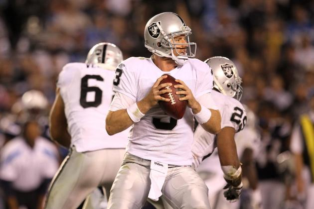 Oakland Raiders:  8 Strongest Offensive Weapons in 2012