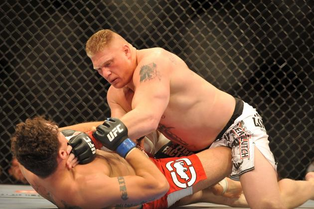 UFC 146 Results: 5 Potential Opponents for Brock Lesnar's Possible UFC Return