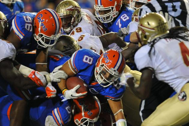 Florida Football: Breaking Down the Gators' RB Battle
