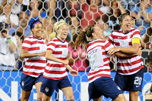 London 2012: 5 Things We Learned from US Women's Soccer Team's Rout of China