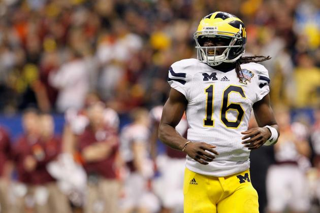 Denard Robinson and the 9 Biggest Offensive Weapons in Big Ten Football