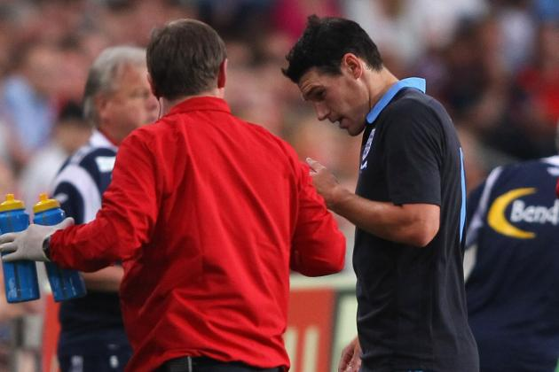 England Euro 2012: Gareth Barry out with Injury, What It Means for England