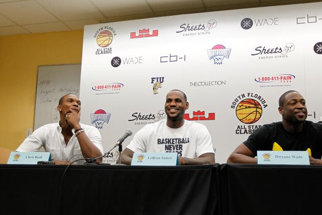 Miami Heat: 10 Reasons Why Breaking Up the Big Three Isn't an Option