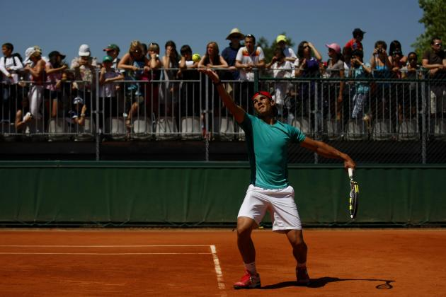 French Open 2012 Bracket: Ranking Today's Top Matches