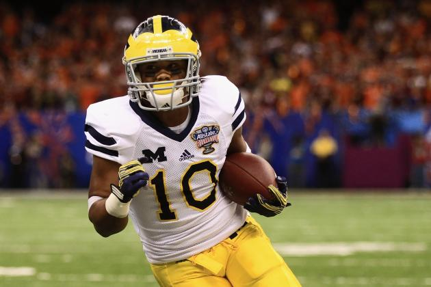 Michigan Football: What You Need to Know About Wolverines' WR Corps