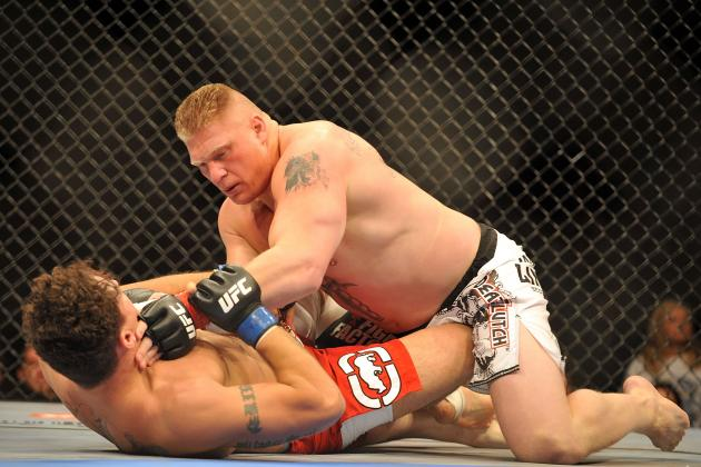 5 Predictions for Who Brock Lesnar Should Fight at WrestleMania 29