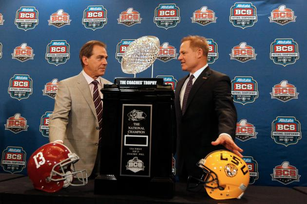 Alabama Football: How Crimson Tide's Future Stacks Up Against Top SEC West Teams