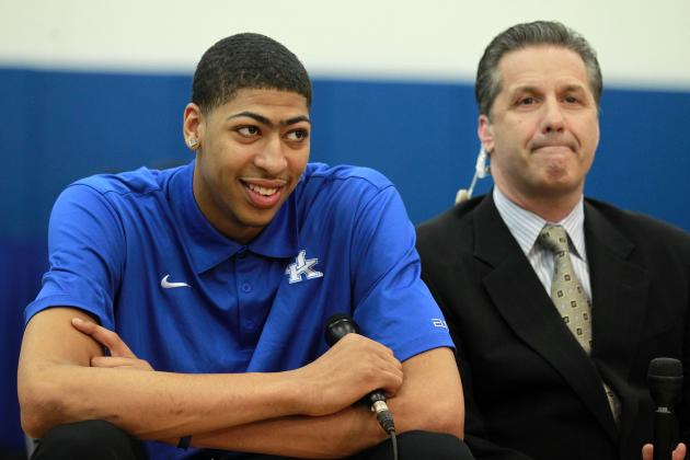 NBA Draft Lottery 2012: Best-Case Scenario for Anthony Davis