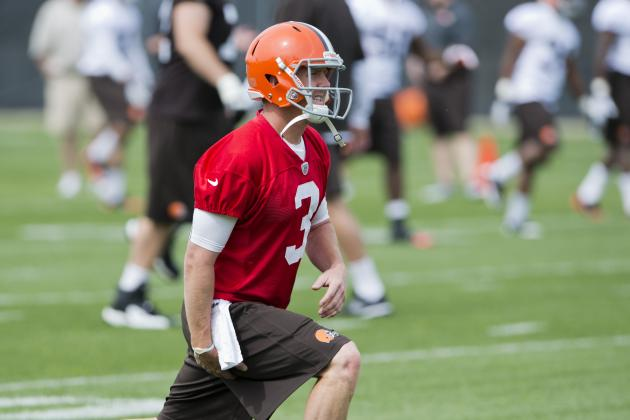 Cleveland Browns OTAs: 5 Reasons Brandon Weeden Will Start on Opening Day