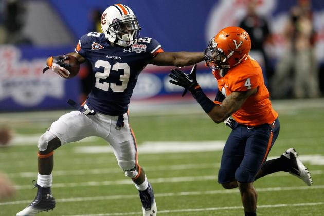 Auburn Football: 5 Reasons Why Tigers Run Game Will Dominate in 2012