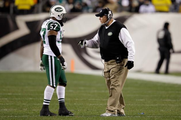 8 New York Jets Who Could Drop Down Depth Chart in 2012