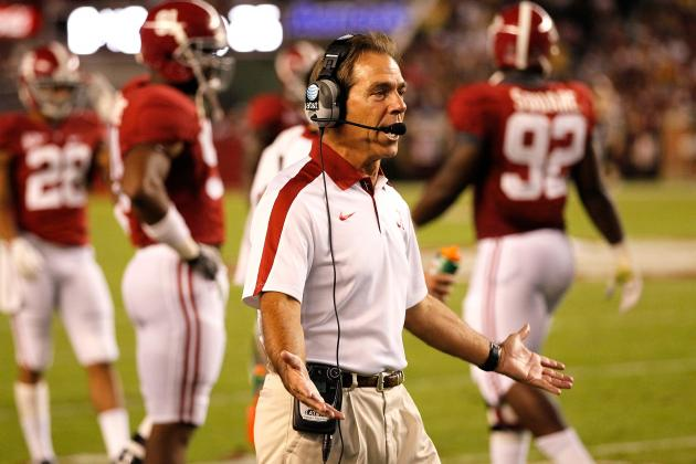 Nick Saban and 10 Other Coaches We'd Most Like to Skype with