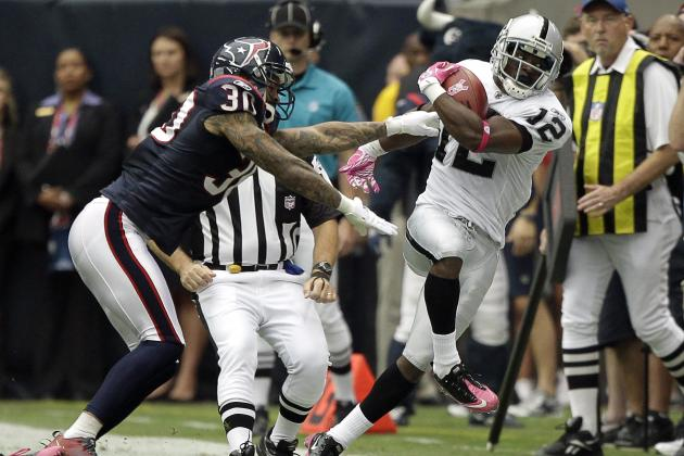 Oakland Raiders: 8 Players Who Could Drop Down Depth Chart in 2012