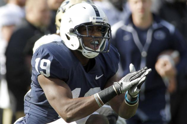 Penn State Football: What You Need to Know About Nittany Lions' WR Justin Brown