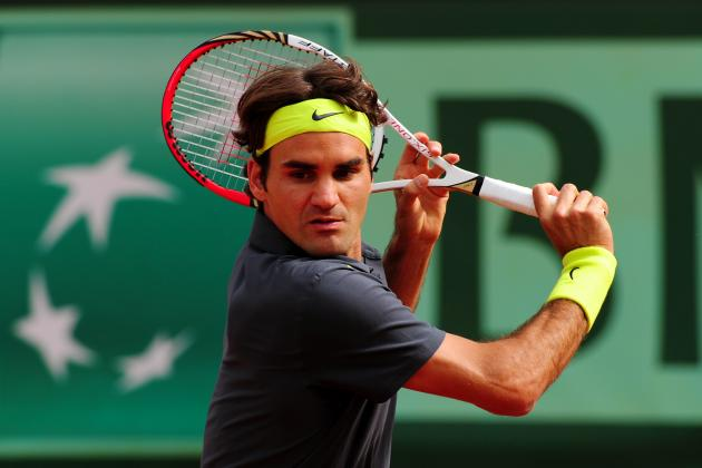 Roger Federer: Fed-Ex and Most Dangerous Veterans at 2012 French Open