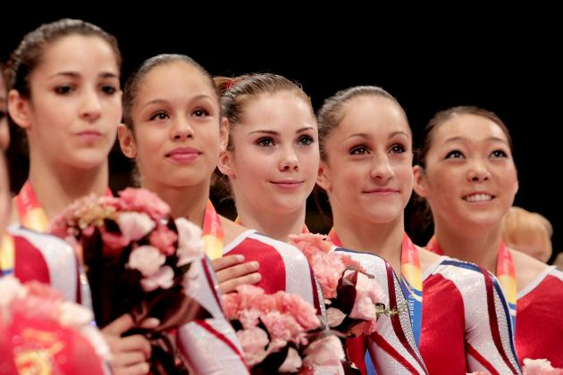 London 2012: 6 US Gymnasts on the Olympic Bubble Entering Visa Championships