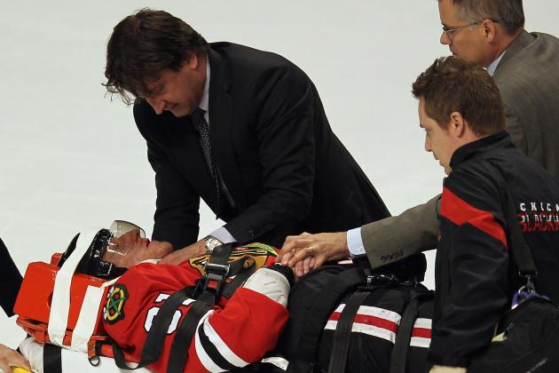 NHL Stanley Cup Playoffs: 15 Most Cringe-Worthy Hits of Hockey's Postseason