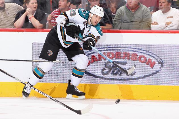 2011-12 San Jose Sharks: Ryane Clowe Report Card
