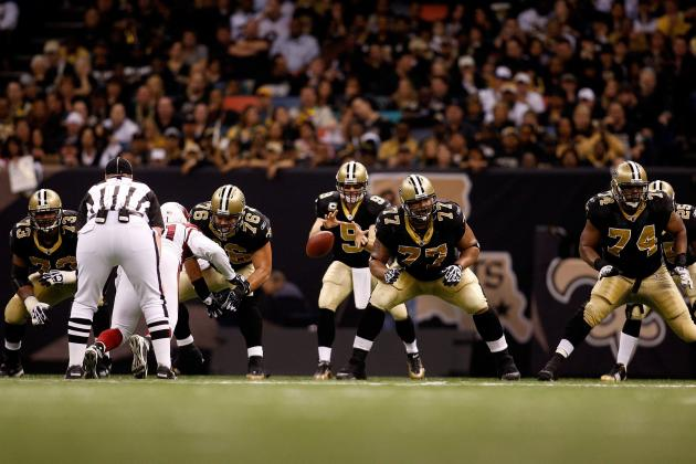 2012 New Orleans Saints Position-by-Position Breakdown: Offensive Line