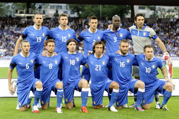 Euro 2012: Predicting the Starting Lineup for Italy in Group Play