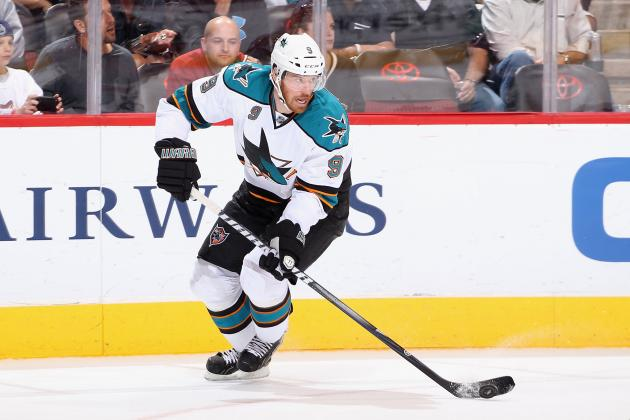 San Jose Sharks: Martin Havlat 2011-12 Report Card