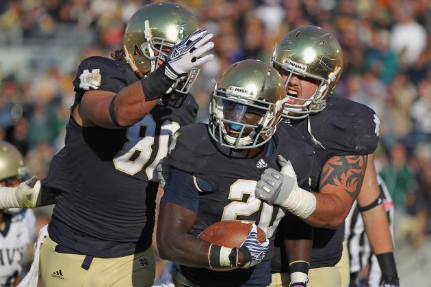 Notre Dame Football: The Top 10 Players for the 2012 Season