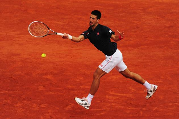 Novak Djokovic: Counting Down Djoker's Best Moments on Clay Courts