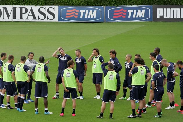 Euro 2012: 10 Keys for Italy vs. Spain