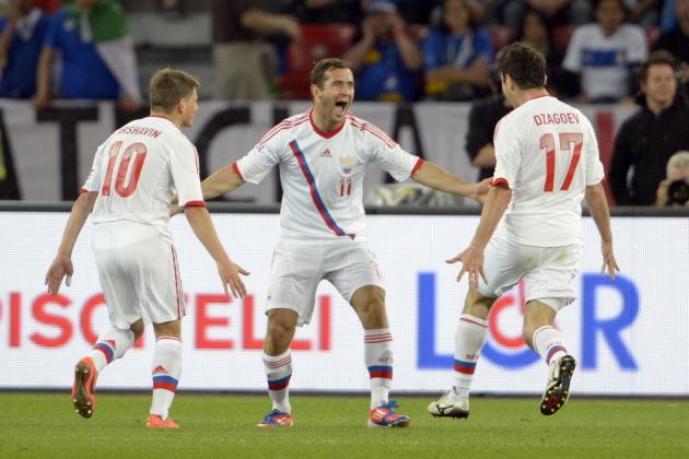 Russia Euro 2012 Roster: Analyzing the Team's Starting 11 and More