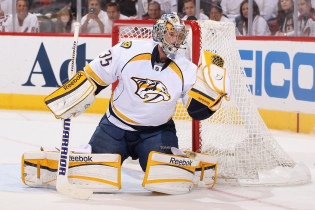 NHL13 Cover Vote: 4 Reasons Why Pekka Rinne Will Win the Vote