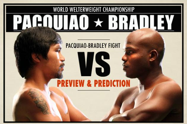 Pacquiao vs Bradley Predictions: Projecting Outcome of Every Round