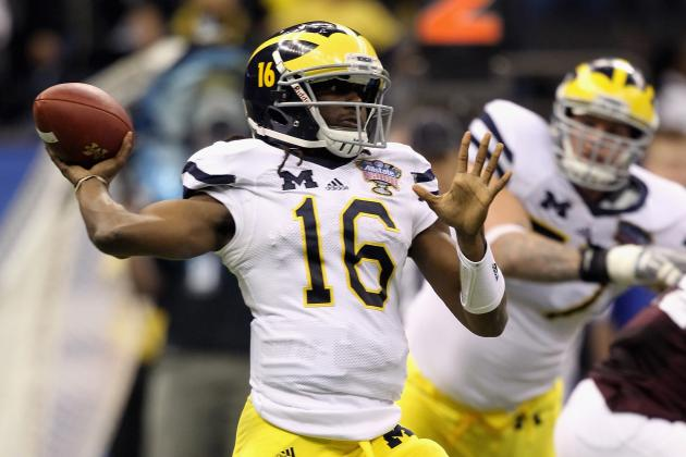 Big Ten Football: Power Ranking the Starting QBs Going into the 2012 Season