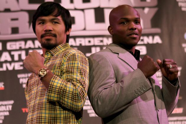Pacquiao vs. Bradley Odds: Easy Money Should Remain on Pacman