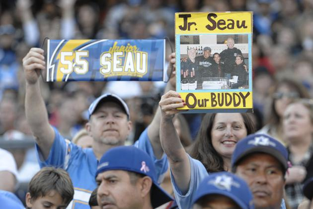 Junior Seau and 3 Stars San Diego Embraced as Its Own