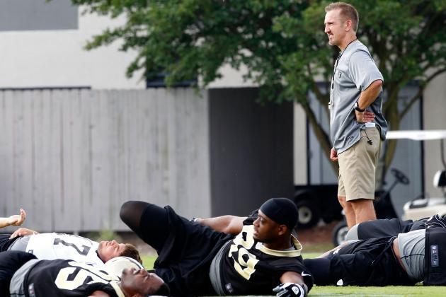 2012 New Orleans Saints Training Camp: Positional Grades