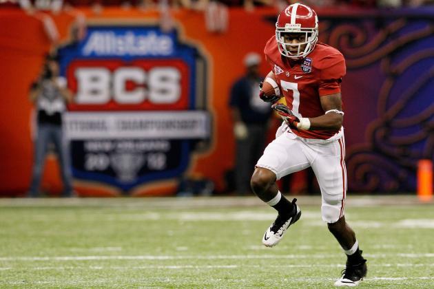 Alabama Football: Power Ranking the Crimson Tide Wide Receiver Unit