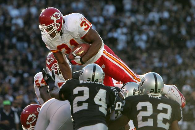 Kansas City Chiefs: Ranking Their 5 Best Running Backs of All Time