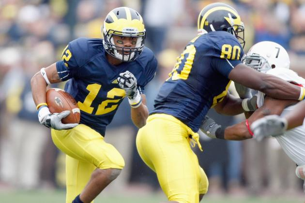 Michigan Football: Why Roy Roundtree Is Under Immense Pressure for 2012 Season