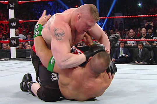 WWE: Brock Lesnar and the 10 Best Shoot-Style Wrestlers Ever