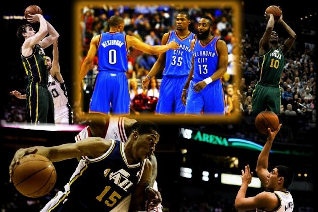 NBA 2012: Why the Utah Jazz Are the Next Oklahoma City Thunder