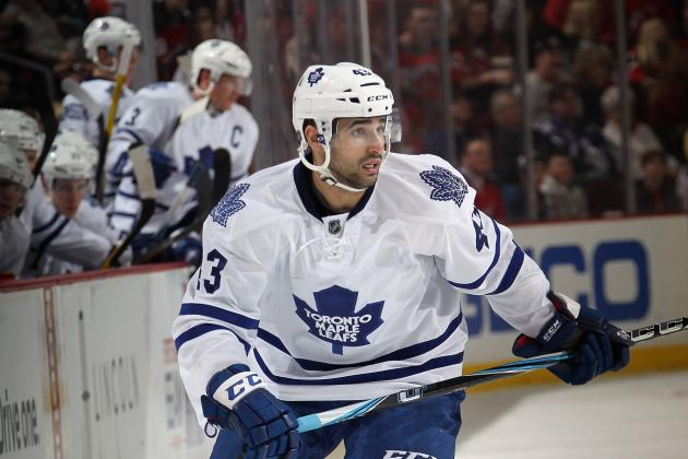 Toronto Maple Leafs: Predicting the Leafs' Opening Day Lineup for 2012-13