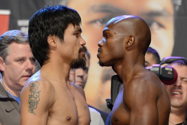 Manny Pacquiao vs. Timothy Bradley Results: Round-by-Round Highlights and Recap