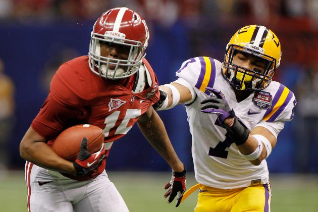 Alabama Football: The Crimson Tide's Best Weapons Against Each 2012 Opponent