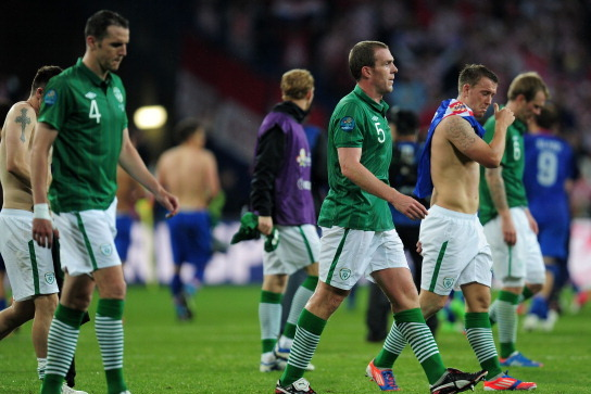 Euro 2012: Republic of Ireland Player Ratings in Group C Loss to Croatia
