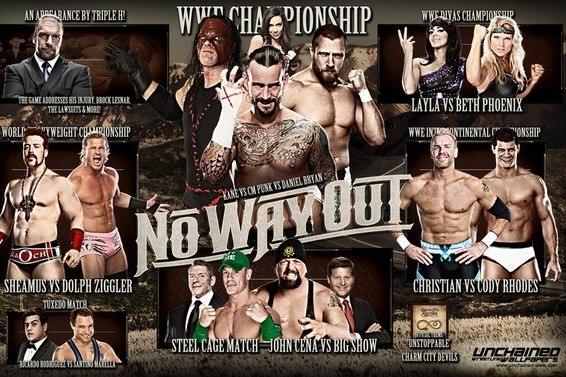 WWE No Way Out 2012: Thoughts and Predictions on This Sunday's PPV