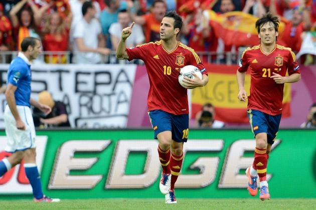 Spain vs. Italy Euro 2012: Ranking the Best and Worst Players in Group C Match