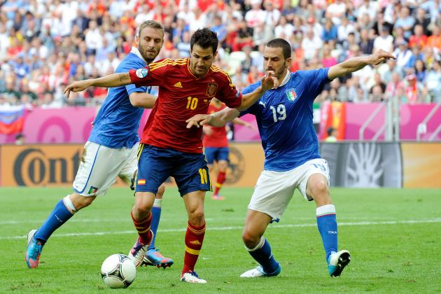 Spain vs. Italy: 5 Things We Learned from Their Opening Draw