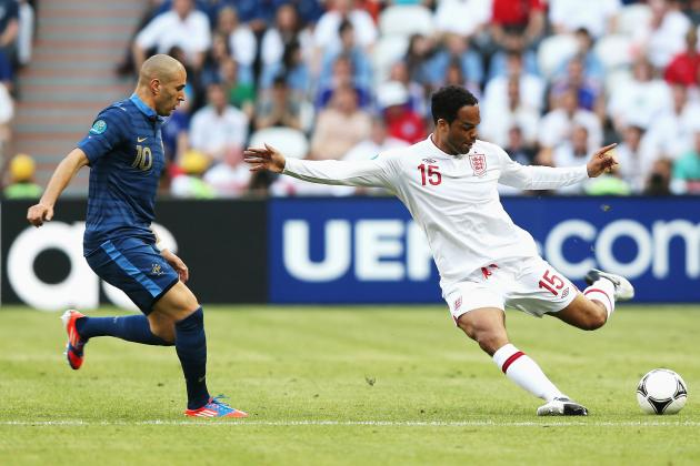 France vs. England Euro 2012: Rating the England Players in Group D Opener